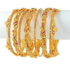 bridal gold set gold bridal bangles set