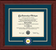 michigan state diploma frame of michigan diploma frame lasting memories dsch umiclmc