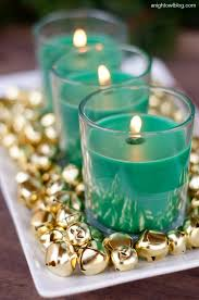 Gold Christmas Centerpieces - easy christmas centerpiece a night owl blog