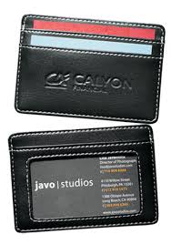 Leather Personalized Business Card Holder Personalized Business Card Holders In Bulk Discountmugs