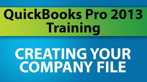 quickbooks pro 2013 training creating your company file youtube
