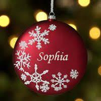 ornaments customizable decore