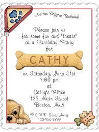dog birthday party personalized dog birthday party invitations thepartyanimal