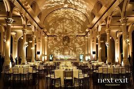 Cheap Wedding Venues Los Angeles Leaf Lighting Gobo On Back Wall Love The Uplit Columns Weddings