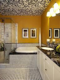 magnificent pictures of retro bathroom tile design ideas black yellow bathrooms 7 bright ideas hgtv fun and inviting