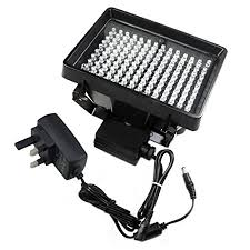 security light with camera built in dbpower 140 led ir infrared l illuminator light 850nm for cctv