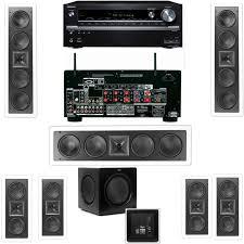 thx home theater amazon com klipsch kl 6504 thx 3 speaker in wall 7 1 sw 310
