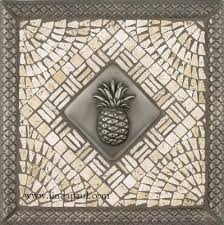 tile medallions for kitchen backsplash pineapple kitchen backsplash tile medallion pineapple kitchen