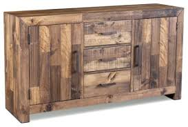 rustic style fulton sideboard rustic buffets and sideboards