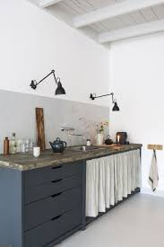 kitchen inspiration ideas minimalist blue kitchen inspiration get the look curate display