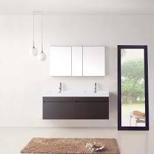virtu usa jd 50355 wg 55 inch zuri double sink bathroom vanity