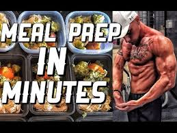 remington james meal prep in minutes cutting diet meal prep in