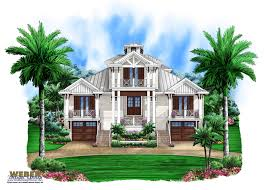 coastal house plans on pilings 3 story old florida house plan beach outdoor living lanai pool
