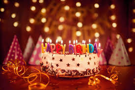 birthday cake decoration candles 4k 5k wallpapers