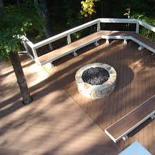 Custom Gas Fire Pits - custom outdoor fireplace or fire pit archadeck outdoor living