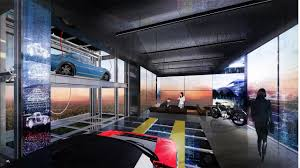 ultimate garage is a vertical vehicle showcase workshop and all mechanical and technical information is at the owner s fingertips with the help of the digital