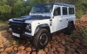 land rover defender autobiography land rover defender u2013 the goodbye test iol motoring