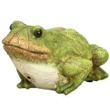 frog plastic resin standard statues lawn ornaments ebay