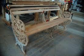 making a cast iron park bench prop agenda
