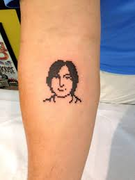 steve jobs left an imprint on the skin of some devoted fans