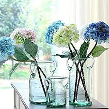 Flowers Glass Vase Amazon Com Set Of 3 Bud Vases Dairy Milk Glass By Heritage