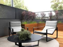 astonishing planter box design with grasses gray wall terrace