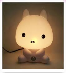 best light for sleep baby room night light rabbit cartoon kids sleeping bed l night