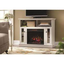 Tv Stands With Electric Fireplace Infrared White Fireplace Tv Stands Electric Fireplaces The