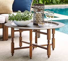 Tray Coffee Table Marrakech Tray Coffee Table Pottery Barn