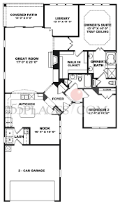 surrey crest floorplan 1705 sq ft del webb at lake oconee