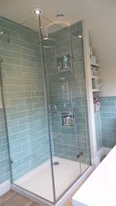 glass panel shower door best 25 corner shower enclosures ideas on pinterest corner