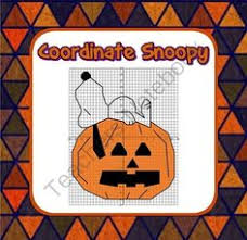 halloween nevermore a coordinate graphing activity