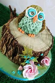 owl cake owl cake bark effect tutorial at https www