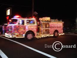 Fire Trucks Decorated For Christmas Runnemede Christmas Tree Lighting My View On Runnemede