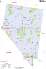 Map Of Arizona Cities by Nevada Map Map Of Nevada Nv