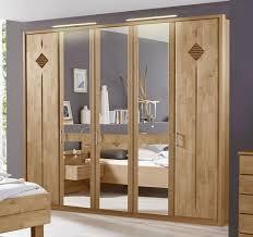 Schlafzimmer Spiegel Mit Beleuchtung Spiegel Kleiderschrank Erle Teilmassiv Klassischer Stil Aliano
