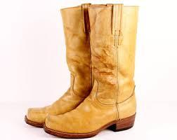 womens black cowboy boots size 9 vintage frye boots womens size 5 frye boots mahogany