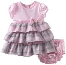 newborn youngland baby newborn mesh overlay dress