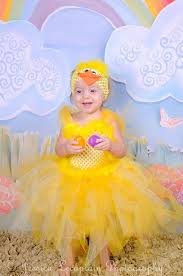 Baby Duck Halloween Costume Duckie Tutu Dress Headband Duck Tutu Alldressedupcouture