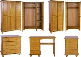 Bed Side Desk Hampshire Solid Antique Pine Bedroom Furniture Wardrobe Drawers