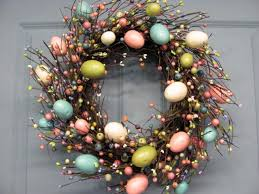 how to make an easter egg wreath diy easter egg decorations 2015