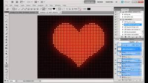 led sign generator photoshop action youtube