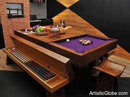Mustang Pool Table Creative And Unusual Pool Tables Golf Banter