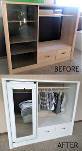 repurpose china cabinet in bedroom diy furniture makeover ideas learn how to create two pieces of