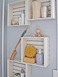 unique bathroom storage ideas 12 clever bathroom storage ideas crate shelves crates and shelves