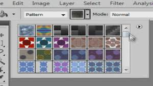 install pattern in photoshop cs6 how to add patterns in photoshop youtube