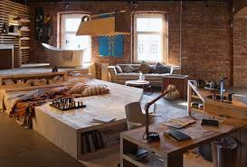 loft living space modern interior design and trends in decorating