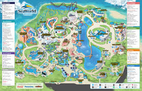 San Diego Attractions Map by Map Archives Seaworld Parks Rock