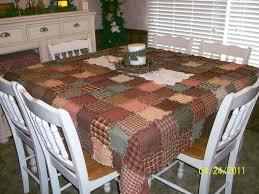beautiful homespun tablecloth rags n rhinestones