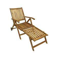 Sun Lounge Chair Design Ideas 54 5 Acacia Wood Outdoor Patio Furniture Sun Lounger Chair